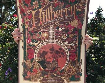 Hillberry Harvest Moon Festival poster