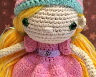 Amy Crocheted doll