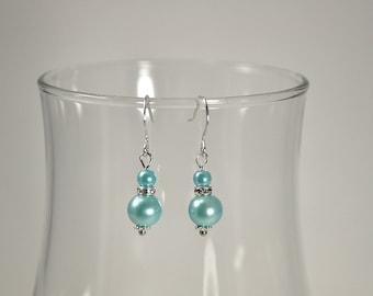 Spa Pearl Bridesmaid Earrings