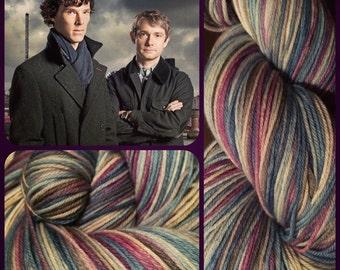 221B Baker Street -- Sock Yarn/462 yds