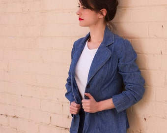 Vintage 1970s LEVI'S Big E Denim Jacket / Vintage Levi'S Denim / Blue Denim / S/M