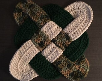 Celtic Weaved Sqaure Hot Pad