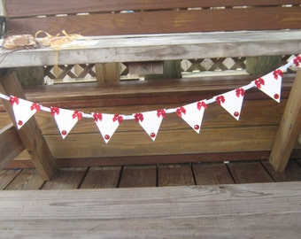 Rudolph Banner, Christmas Banner, Holiday Banners