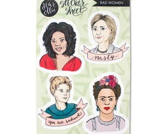 Rad Women Sticker Sheet