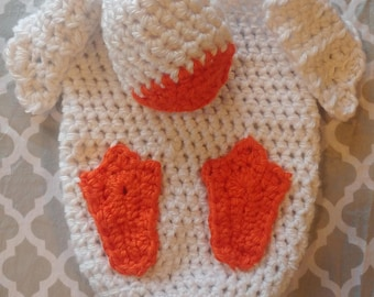 Crochet Duck Cocoon
