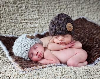 Newborn Photo Prop Baby Blanket Soft Basket Filler Basket Stuffer Photography Prop