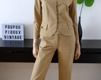 suit jacket pants beige SINEQUANONE size 36 / uk 8 / us 4
