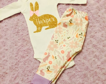 Baby Easter. First Easter. Easter outfit. Baby girl Easter. Baby boy Easter. Easter.