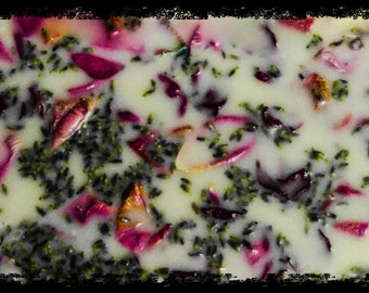 Rose with fresh lavender lotion soap