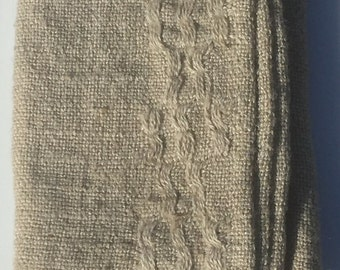 Jute Burlap Open Weave Tea Towels - now in stock - but they won't last!!