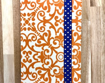 Revised NWT Bible Cover. Orange Bible cover. Orange & blue. JW Bible cover. JW Gifts. jw pioneer gift. jw baptism gift. jw gift for girl.