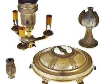 Vintage Colonial Premiere Floor Lamp Parts