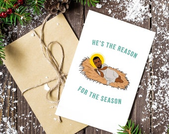 Hes The Reason Holiday Card (3 pack)