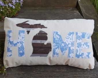 HOME Michigan pillow