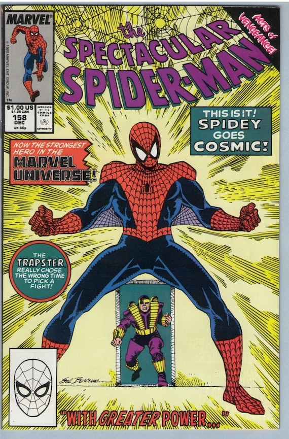 Spectacular Spider-man 158 Dec 1989 NM- (9.2)