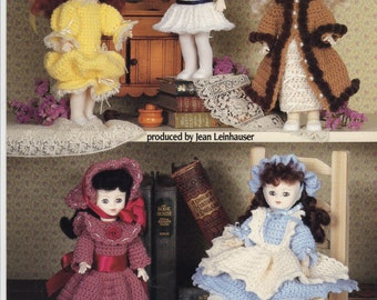 CROCHET PATTERNS for Dolls. Five booklets: Older but never used. American School of Needlework, etc. CLEARANCE!