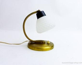 Vintage Bedside Lamp Small Bedside Light 50s 60s