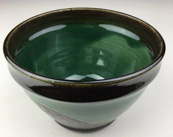 Jade Leaf Bowl