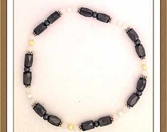 Handmade MWL magnetic ankel bracelets. 0161-0166