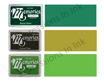 NEW! Memories Full Size PIGMENT Ink Pad - Choice of Colors