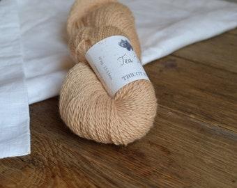 Tea Time - Skein of Merino Wool organic vegetable dye