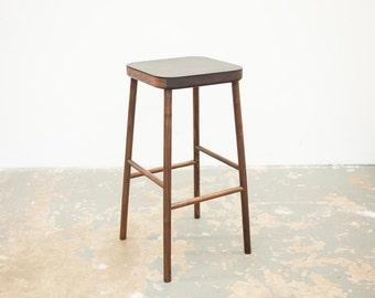 Free Shipping - Bar stool - White Oak or Walnut - Counter Height