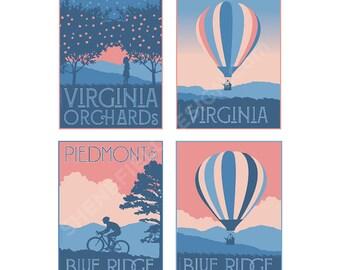 Virginia Blue Ridge, Piedmont and Albemarle