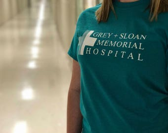 Grey's Anatomy T-Shirt - Grey Sloan Memorial Hospital - Tv Show