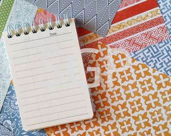 Date Memo Pad & Scrapbook Journal Paper Stock Photography, Stock Photos Digital Download, Digital Paper, Scrapbook Journal Paper, Wall Art
