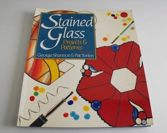 Stained Glass Projects & Patterns How-To Book