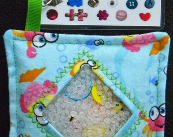 I Spy Bag - Mini with Sewn Word List and Detachable Picture/Word List- Ocean Adventures