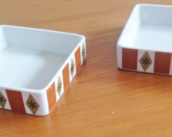 Retro Notion Dishes - Set of 2