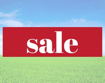 Sale - Business Office Store Front Banners