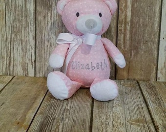 Personalized 12 inch Bear with name.