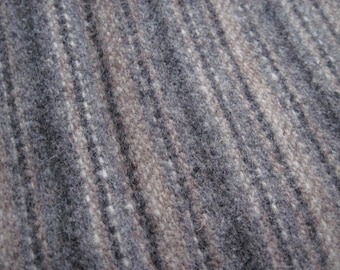 Vintage Britex Striped Wool Fabric 2 1/2 Yards