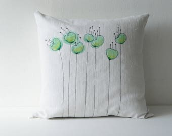 Pillow, cushion, pillow, Removable cushion 40 x 40 cm