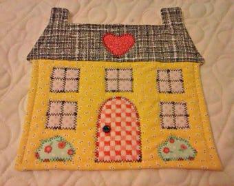 NEW - Home Sweet Home Mug Rug - Mug Rug - Coasters