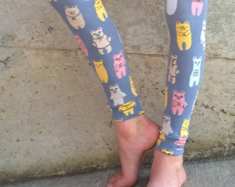 Bear Design Leg or Arm Warmers - Fits Baby, Toddler, Tween on the Legs, Kids and Tweens on the Arms - Boy/Girl Birthday or Baby Shower Gift