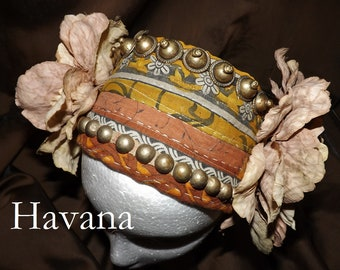 ATS Tribal Fusion Belly Dance Headpiece, Havana