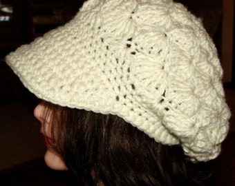 3 Vintage Style Hat Crochet Pattern Pdf