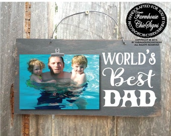 world s greatest dad picture frame