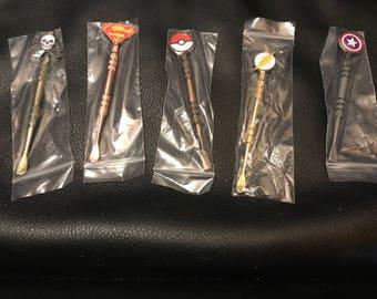 10 pack stainless steel super hero wax tool