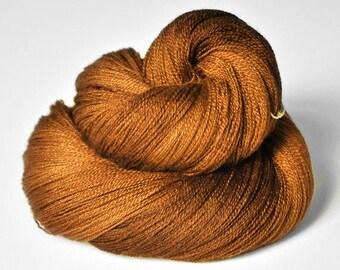 Camel gone wild - Merino/Silk/Cashmere Fine Lace Yarn