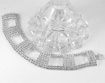 Art Deco Crystal Bracelet