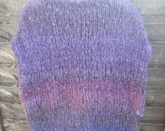 Poncho shadow violet  purple