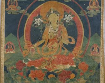 Poster, Many Sizes Available; Green Tara