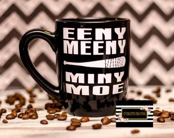Negan lucile eeny meeny miny moe Coffee Mug