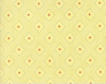 Anns Arbor Buttercup 14843 16 - Moda Fabrics 100% Cotton Quilting Fabric by Minick and Simpson