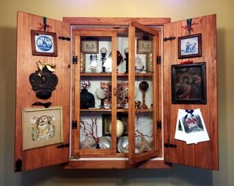 Cabinet of curiosity - Scarabattolo - wunderkammer -showcase