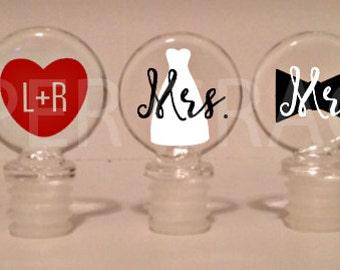 Wedding Wine Stopper Gift Set, Wine Stoppers, Wine Bottle Stoppers, Wedding Gift Ideas, Wedding Gift, Wedding Shower Gift Ideas
